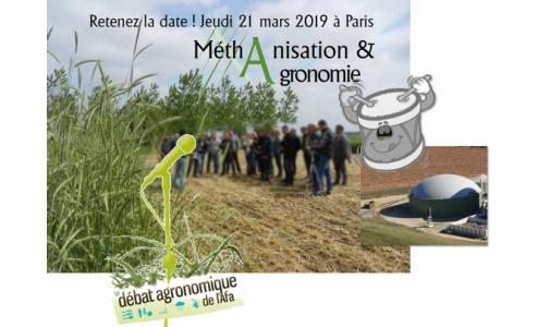 21-03-2019 -  AFA : Méthanisation : une production d'énergie interrogeant les agronomes