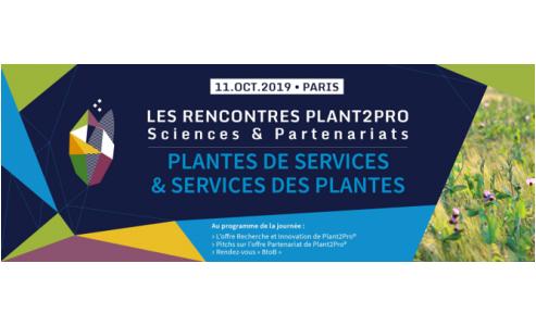 11 octobre 2019 Rencontres Plant2Pro