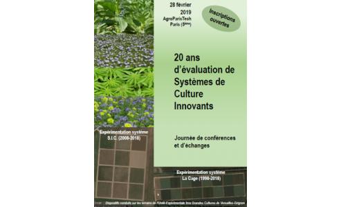 """Journée de conférences et d'échanges """"20 ans d'évaluation de systèmes de culture innovants"""""""